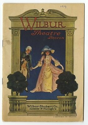 The Road to Happiness - Vintage Playbill - Wilbur Theatre, Boston, 1914