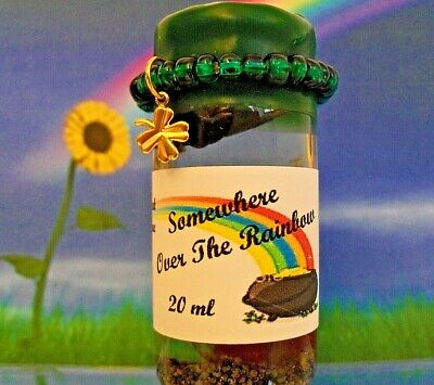 SOMEWHERE OVER THE RAINBOW Wizard Ritual WICCA Magick Money Spell Oil  20 ml