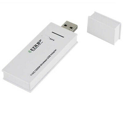 Dual Band USB 3.0 Wireless WiFi 802.11AC Adapter AC 1200Mbps WPS Linux