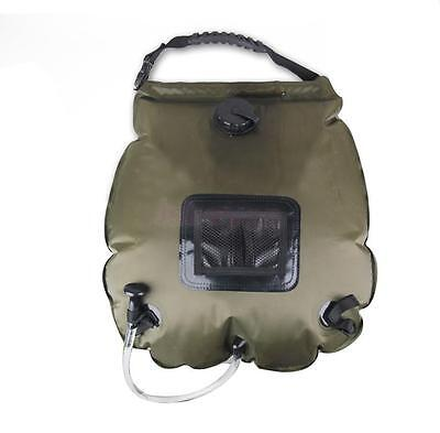 20L Solar Heated Shower Camping Water Bathing Bag Outdoor Travel Portable