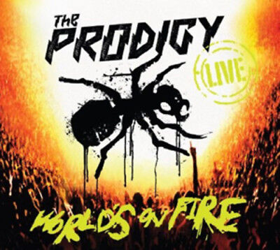 The Prodigy : World's On Fire CD (2011) ***NEW***