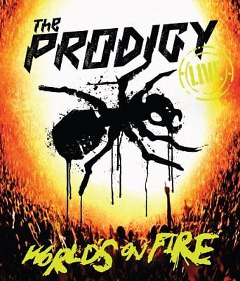 The Prodigy: World's On Fire Blu-Ray (2011) Paul Dugdale ***NEW***