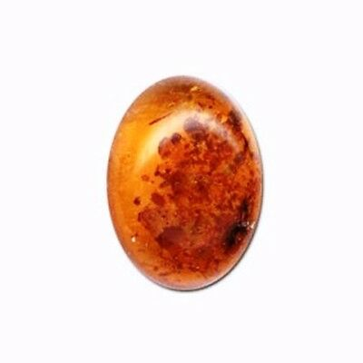 AMBER CABOCHON -  ROUND OR OVAL - 9 sizes 6mm 8mm 10mm 14mm 18mm 40mm