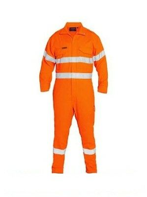 Bisley Tencate Tecasafe® Plus Taped Hi Vis Engineered Vented Coverall (Bc8085T)
