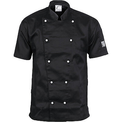 DNC Workwear Unisex Traditional Chef Jacket - Short Sleeve (1101)