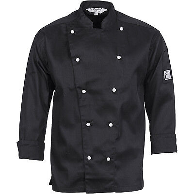 DNC Workwear Unisex Traditional Chef Jacket - Long Sleeve (1102)
