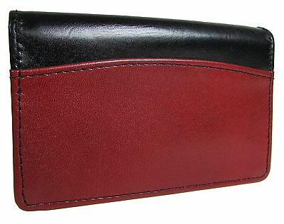 New Buxton Leather Business and Credit Card Case Holder Wallet