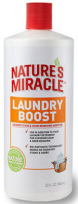 NATURE'S MIRACLE - Laundry Boost Stain & Odor Additive - 32 fl. oz. (946 ml)