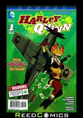 HARLEY QUINN ANNUAL #1 BOMBSHELLS VARIANT ONLY AVAILABLE IN US EDITION 1st Print