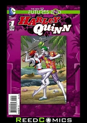 HARLEY QUINN FUTURES END #1 2D STANDARD COVER (1st Print) New Bagged and Boarded