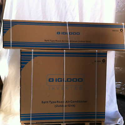 Igloo 1Hp  Split Air Conditioner Dc Inverter Pcs-25V3A 1.6-3Kw Cooling & Heating