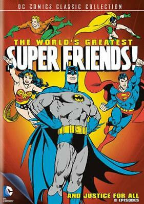 The World's Greatest Super Friends!: And Justice For All New Dvd
