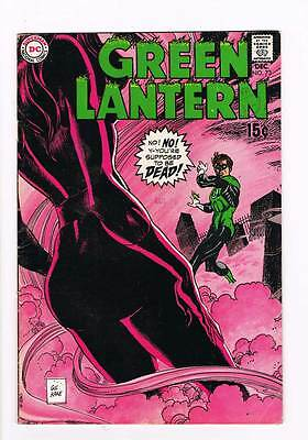 Green Lantern #  And to Space Ye Shall Return ! grade - 5.0 scarce book !!