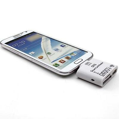 5in1 Micro USB OTG Card Reader Converter Connection Kit for Samsung S3 S4 Note 2