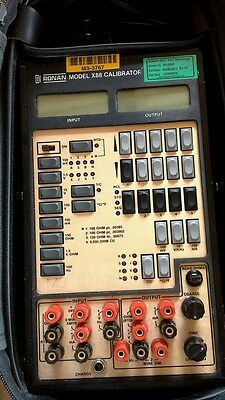 Ronan X88 calibrator test equipment calibration Model X88