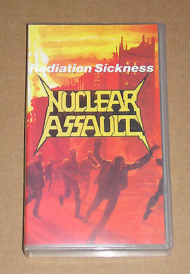 Nuclear Assault - Radiation Sickness - Videocassetta Vhs