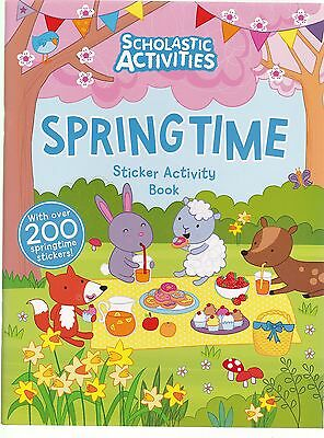 Springtime Sticker Activity Book with over 200 Stickers