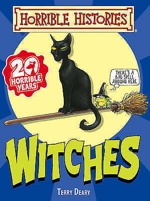 Witches by Terry Deary (Horrible Histories) (Paperback) New Book