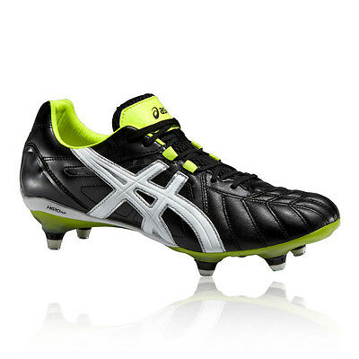 Asics Gel-Lethal Tigreor 8 K It Hommes Noir Chaussures De Football Rugby Piques