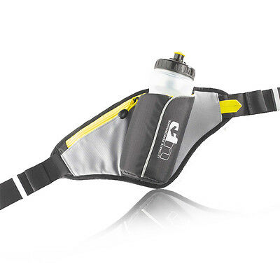 Ultimate Performance Ribble Running Cycling Hydration Water Bottle Belt New