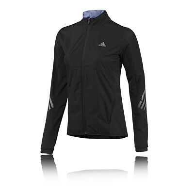 Adidas Supernova Gore Womens Black Windproof Running Sports Jacket Top