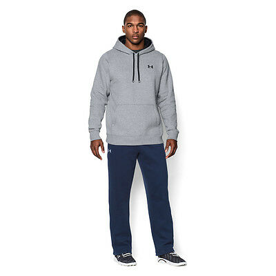 Under Armour Storm Rival Hommes Gris Sweat ? Capuche Hoody Chaud Pull Haut Sport
