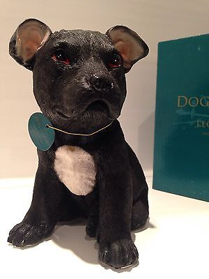 Staffordshire Bull Terrier Staffy Puppy  Love Dog Ornament Figurine Figure Gift