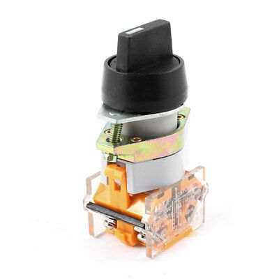 """DPCO 2 NO 3 Positions Rotary Switch Selector 0.9"""" Mounting Hole Diameter"""