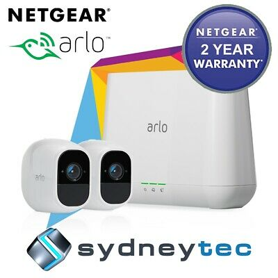 New AU Netgear Arlo Pro 2 VMS4230P Wire-Free HD Camera 2 Security System