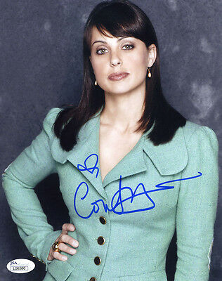 (SSG) CONSTANCE ZIMMER Signed 8X10 Color Photo with a JSA (James Spence) COA