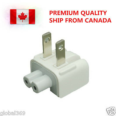 New Wall Plug Duckhead for Apple Mag safe AC Power Adapter Charger US & CAN
