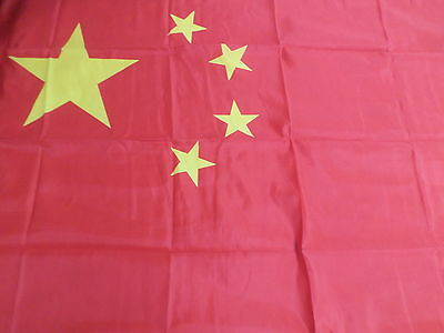 China Window Flag 5ft x 3ft Large Country Banner Supporters Fan Chinese  #5C39