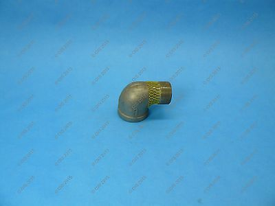 "Stainless Steel 316 Cast Pipe Fitting Street Elbow 1 1/4"" NPT, Class 150"