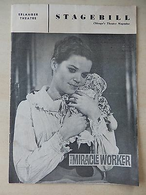 May 1961 - Erlanger Theatre Playbill - The Miracle Worker - Eileen Brennan