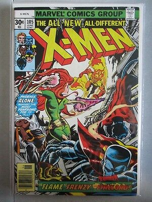 Uncanny X-Men Vol. 1 (1963-2011) #105 VF+