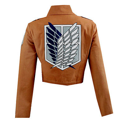 Attack on Titan Shingeki no Kyojin Scouting Legion Cosplay Embroidery Jacket
