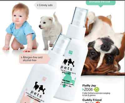 Dog Deodorant Spray Odour Remover Control Refresh Dogs Smell Deodoriser