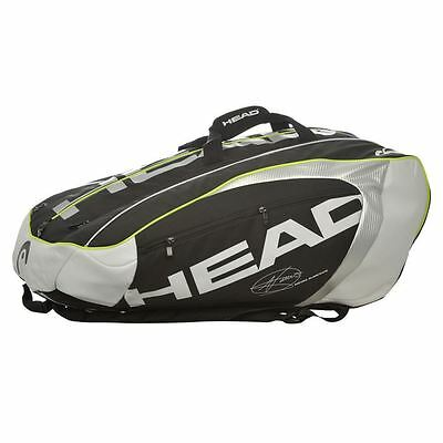 HEAD Djokovic 12R MonsterCombi Tennis Bag New!!!