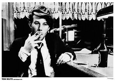 """Tom Waits Amsterdam NEW A1 Size 84.1cm x 59.4cm - approx 33"""" x 24"""" Poster"""