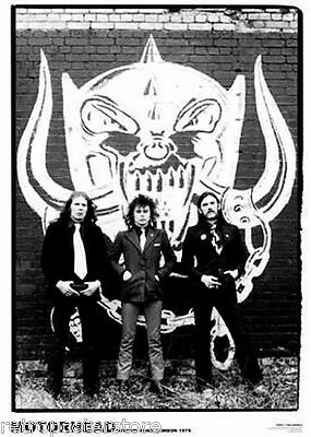"Motorhead 1979 NEW A1 Size 84.1cm x 59.4cm - approx 33"" x 24"" Poster"