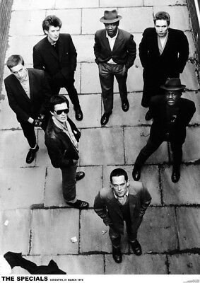 "The Specials Coventry NEW A1 Size 84.1cm x 59.4cm - approx 33"" x 24"" Poster"