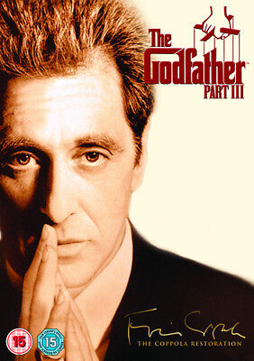 The Godfather: Part III DVD (2013) Al Pacino ***NEW***