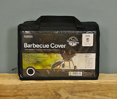Gardman Premium Kettle Barbecue Cover - Black