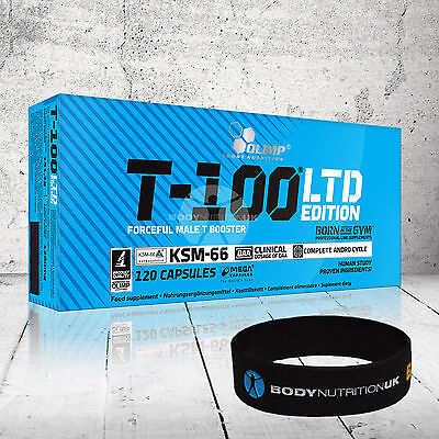 OLIMP T-100 LTD 120 Capsules Testosterone Booster Strong Anabolic Legal Pills