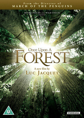 Once Upon a Forest DVD (2014) Luc Jacquet ***NEW***