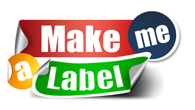 Designed and Custom Printed Personalised Shop Business Stickers Labels