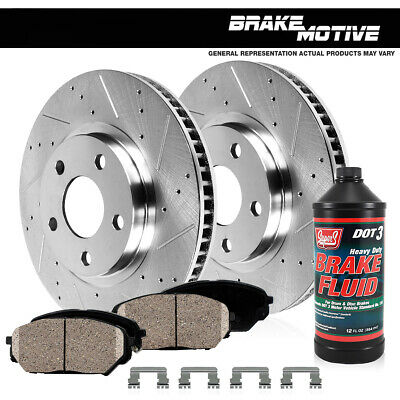 Shoes For Jeep Wrangler Cherokee Ceramic Pads /& Rear Drums Front Brake Rotors