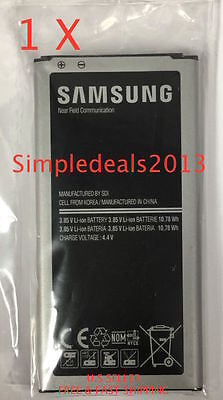 NEW Genuine OEM Battery for Samsung Galaxy S5/SV EB-BG900BBU  2800 mAh NFC