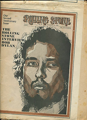 1969 Bob Dylan Rolling Stone Magazine No. 47 Led Zeppelin II full page ad