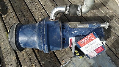 Used working American Delphi 5 HP garbage disposal disposer 208 volt w/ panel